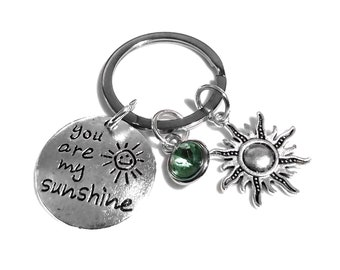 Sunshine Inspiration Key Chain Love Thinking Of You Thank You Gift