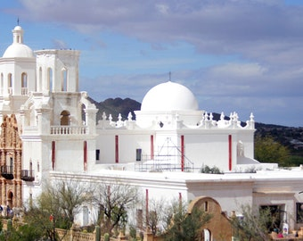 The White Dove of the Dsert 2 - Mission San Xavier del Bac, Tucson