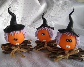 Halloween Decor Pumpkin Witches. Halloween favor