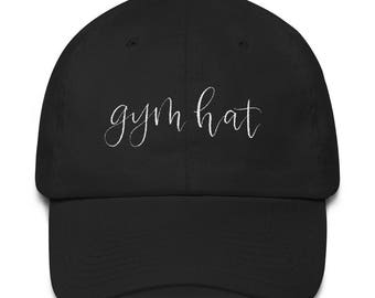 Gym Hat - Workout Hat - Workout Cap