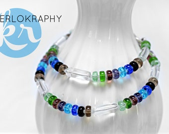 Necklace ~ Oh happy day ~ multicolor