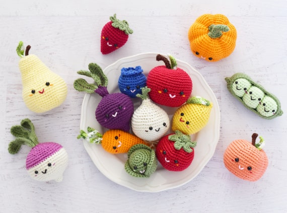 Amigurumi Vegetable Patterns : View crochet patterns by littleconkers on etsy