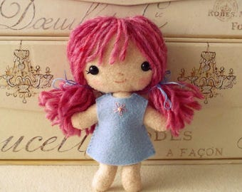Tag-Along Doll pdf Pattern - Instant Download
