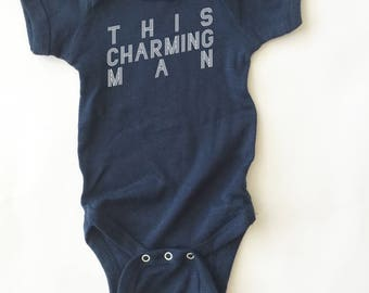 The Smiths. This Charming Man infant shirt.  Cute baby shirt!
