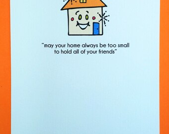 New House Greeting Card