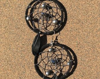 Dreamcatcher Hoop Earrings