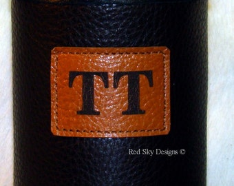 Custom Laser Engraving Personalize Leather Red Sky Insulator *** Item cannot be purchased without also purchasing a Red Sky Insulator ***