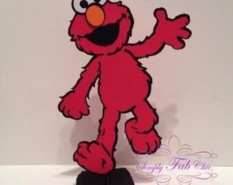 Elmo / Sesame Street Centerpiece / Table Decor / Birthday Party