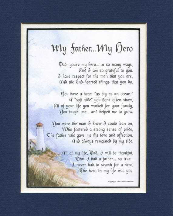 Gifts For Him Men Dad Birthday Gift Father Poem Fathers Day Dads 70th