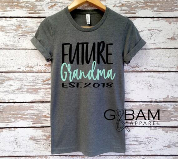 Boyfriend tee / \GRANDMA SHIRT /Grandma tee/ You're a grandma / Grandma gift / future grandma / we're Pregnant