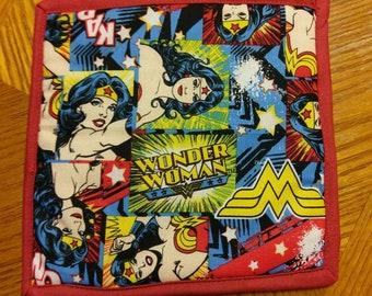 Wonderwoman Potholder