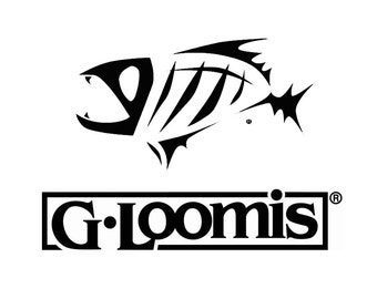 Decal G loomis/fear no. fish/fishing/boat decal boat fishing sticker