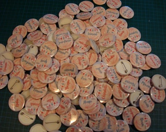 Request custom badges ceremony scrapbooking