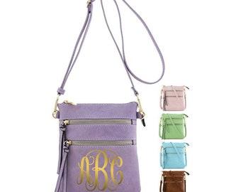 Custom Purse Monogram Purse Crossbody Bag CustomCrossbody Bag Womans Bag Woman Purse Girl Purse Women Gift Woman Gift Mothers Day Gift Purs