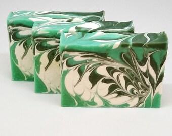 Handmade soap Aloe Vera and Cucumber