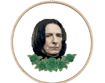 Severus Snape Cross Stitch Pattern - Instant Download