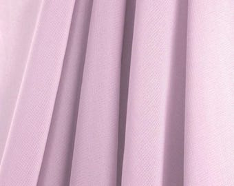"60"" Wide - High Quality 100% Polyester Chiffon Sheer Fabric - LAVENDER"