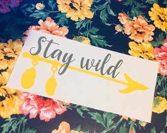 Stay Wild // Anything Decal // Gypsy Soul // Boho