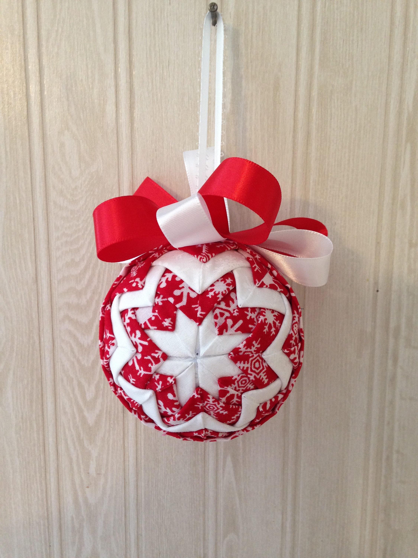 Snowflakes Fabric Ornament