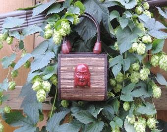 Upcycled Purse Gypsy Hippy Boho All Natural Purse Named Yurko