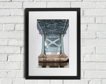 Philadelphia Ben Franklin Bridge- Similar to Peter Lik Philly Fine Art Photograph Print