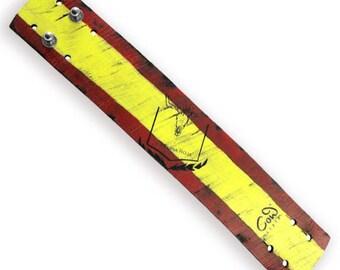 Wide fan leather strap Spain