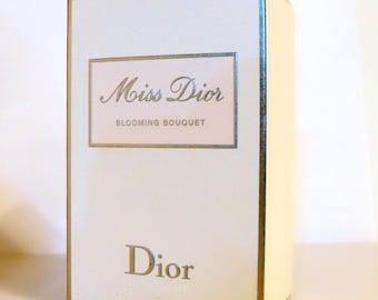 Miss Dior Blooming Bouquet by Christian Dior 3.4 oz Eau de Toilette Spray Empty Box No Bottle