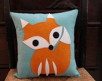 Felt Fox Pillow