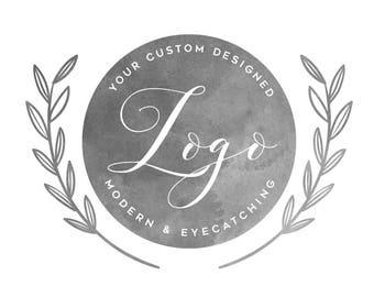Custom LOGO ~ Modern Digital Design ~ Unlimited Revisions! ~ High Res ~ Transparent PNG & JPG File ~ Vector File