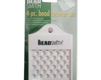 Tools- Beadsmith - 4-pc Bead counter set-  - SKU:501030