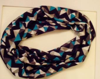 Chevron Knit Infinity Scarf