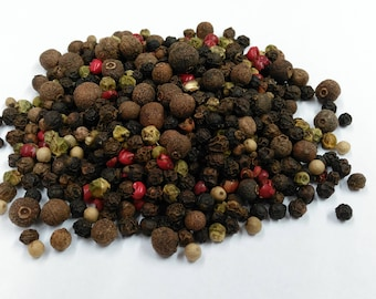 5 Peppercorn Mix, Premium Quality, UK based, Free P&P within the UK