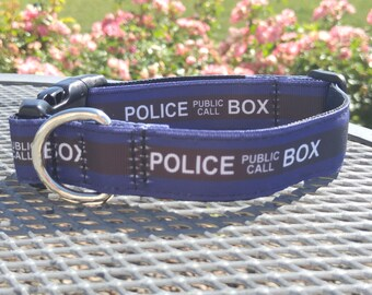 Dr Who inspired dog collars-several styles available