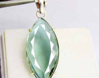 55.00Ct Certified Amazing Alexandrite Pendant 925 Solid Sterling Silver AU3932