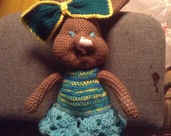 Amigurumi Bunny in a Dress