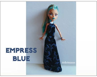 Monster High Nefera Doll Clothes Gown and Jewelry Handmade Fashion - by dolls4emma