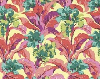 "OOP PWAB147 Amy Butler Bright Heart Tropicanna Peach Floral Quilting 18"" BTHY Rowan Westminster Free Spirit Quilt Sewing Cotton Fabric Rare"