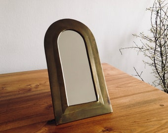 Mirror curved brass - Morocco