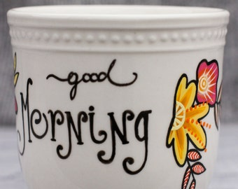 Medium Good Morning Mug