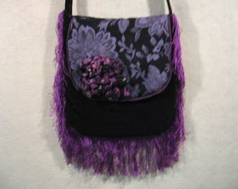 Fringed Crossbody, Tapestry Bag, Brocade Bag, Festival Bag, Concert Bag, Boho Bag, Hippie Bag, Gypsy Bag, Carpet Bag, Fringed Bag, GypsySoul