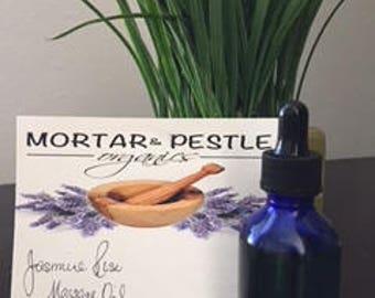 Jasmine Rose Massage Oil w/ Frankincese