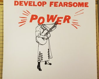 Fearsome Power - print