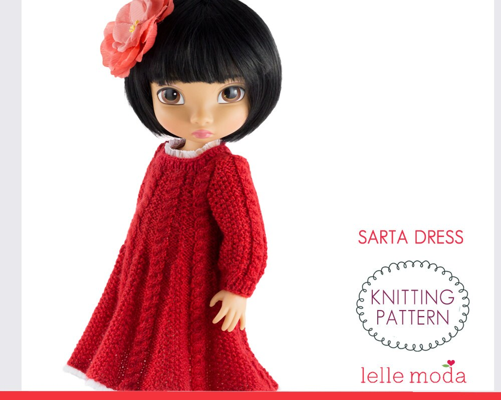 Knitting Pattern for Disney Animators 16 inch Dolls