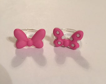 Girly Bow Rings!!