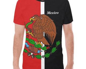 Mexico Men's Flag Tee