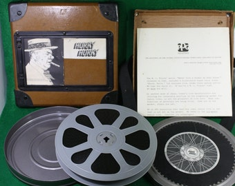 Vintage W.C. Fields 16mm PPG Promotional Film, Hurry Hurry - Rare and Scarce