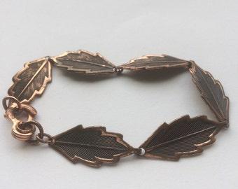 Lovely Vintage Bracelet Bangle Renoir Copper