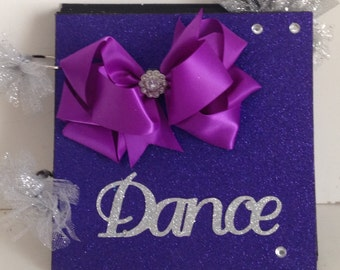 Young Dancer 8 X 8  Chipboard Premade Album