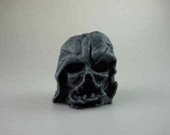 Melted Darth Vader Mask , Star Wars Episode VII ,  The Force Awakens ,  3D printed