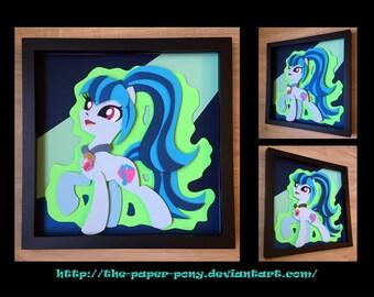 11x14 Sonata Pony Form Shadowbox